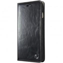 """""""CaseMe"""" solidus atverčiamas dėklas - juodas (iPhone X)"""