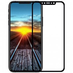 """""""Devia"""" 9H Tempered Glass apsauginis ekrano stiklas 0.18 mm - juodas + nugarėlės plėvelė (iPhone X / Xs / 11 Pro)"""