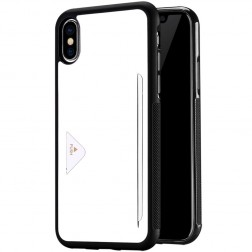 """Dux Ducis"" Pocard dėklas - baltas (iPhone X / Xs)"