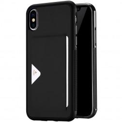 """""""Dux Ducis"""" Pocard dėklas - juodas (iPhone X)"""