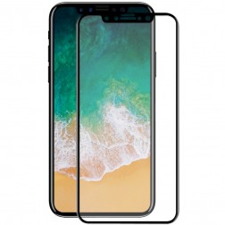 """Hat-Prince"" Tempered Glass apsauginis ekrano stiklas 0.26 mm - juodas (iPhone X / Xs / 11 Pro)"