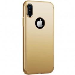 """""""JOYROOM"""" Beetles plastikinis dėklas - auksinis (iPhone X)"""