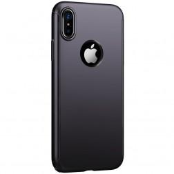 """""""JOYROOM"""" Beetles plastikinis dėklas - juodas (iPhone X / Xs)"""