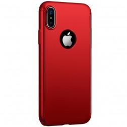 """""""JOYROOM"""" Beetles plastikinis dėklas - raudonas (iPhone X)"""