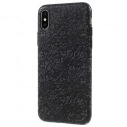 """""""Disco"""" plastikinis dėklas - juodas (iPhone X / Xs)"""