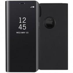 Plastikinis atverčiamas dėklas - juodas (iPhone X)