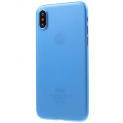 Ploniausias plastikinis dėklas - tamsiai mėlynas (iPhone X / Xs)