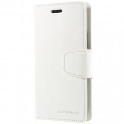 """""""Mercury"""" Sonata atverčiamas dėklas - baltas (iPhone X)"""