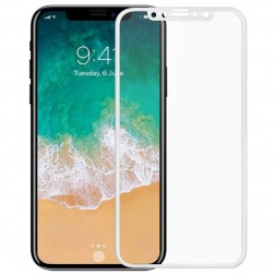 """Mocolo"" Tempered Glass apsauginis ekrano stiklas 0.26 mm - baltas (iPhone X / Xs / 11 Pro)"