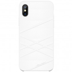 """""""Nillkin"""" Flex dėklas - baltas (iPhone X)"""