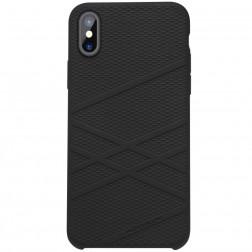 """""""Nillkin"""" Flex dėklas - juodas (iPhone X / Xs)"""
