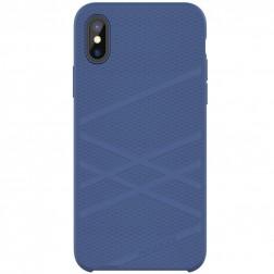 """Nillkin"" Flex dėklas - mėlynas (iPhone X / Xs)"