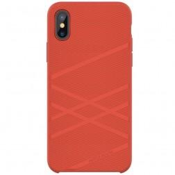 """""""Nillkin"""" Flex dėklas - raudonas (iPhone X)"""