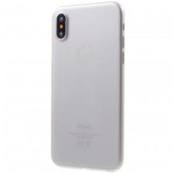 Ploniausias plastikinis dėklas - pilkas (iPhone X / Xs)