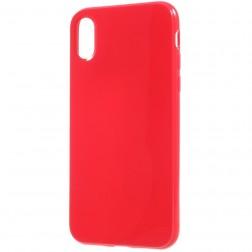 Kieto silikono dėklas - raudonas (iPhone X / Xs)