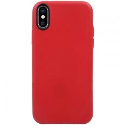 Kieto silikono (TPU) dėklas - raudonas (iPhone X / Xs)