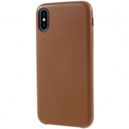 Soft Slim dėklas - rudas (iPhone X / Xs)