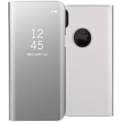 Plastikinis atverčiamas dėklas - sidabrinis (iPhone X)