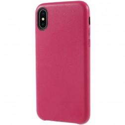 Soft Slim dėklas - tamsiai rožinis (iPhone X / Xs)
