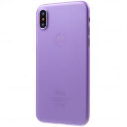 Ploniausias plastikinis dėklas - violetinis (iPhone X / Xs)