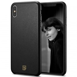 """Spigen"" La Manon Calin dėklas - juodas (iPhone X / Xs)"