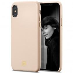 """Spigen"" La Manon Calin dėklas - smėlio spalvos (iPhone X / Xs)"