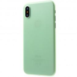 Ploniausias plastikinis dėklas - žalias (iPhone X / Xs)