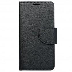 """""""Fancy"""" atverčiamas dėklas - juodas (iPhone Xr)"""