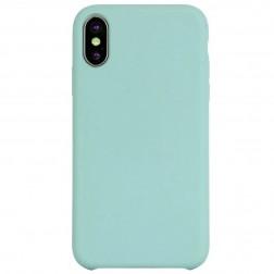"""""""Shell"""" kieto silikono (TPU) dėklas - mėtinis (iPhone Xr)"""