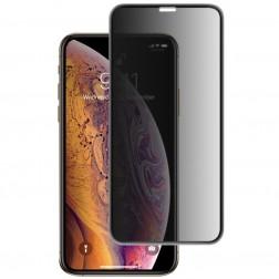 """""""Mocolo"""" Tempered Glass juodas apsauginis ekrano stiklas 0.26 mm - privatumo (iPhone Xr)"""