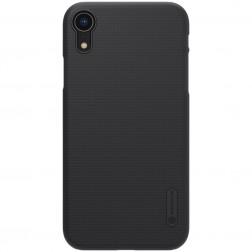 """""""Nillkin"""" Frosted Shield dėklas - juodas (iPhone Xr)"""