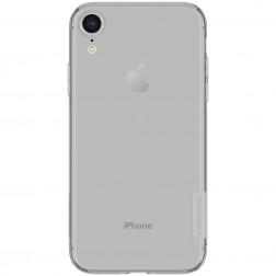 """""""Nillkin"""" Nature TPU skaidrus dėklas - pilkas (iPhone Xr)"""