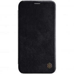 """""""Nillkin"""" Qin atverčiamas dėklas - juodas (iPhone Xr)"""