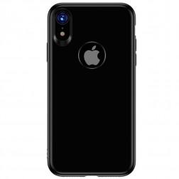 """TOTU"" Soft Frosted dėklas - juodas (iPhone Xr)"