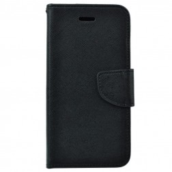 """""""Fancy"""" atverčiamas dėklas - juodas (iPhone Xs Max)"""