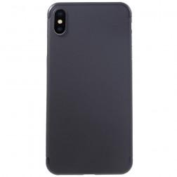 Ploniausias plastikinis dėklas - juodas (iPhone Xs Max)