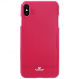 """""""Mercury"""" dėklas - tamsiai rožinis (iPhone Xs Max)"""