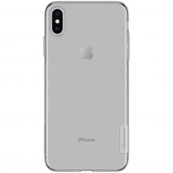 """""""Nillkin"""" Nature TPU skaidrus dėklas - pilkas (iPhone Xs Max)"""