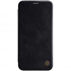 """""""Nillkin"""" Qin atverčiamas dėklas - juodas (iPhone Xs Max)"""
