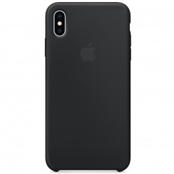 "Oficialus ""Apple"" Silicone Case dėklas - juodas (iPhone Xs Max)"