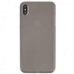 Ploniausias plastikinis dėklas - pilkas (iPhone Xs Max)