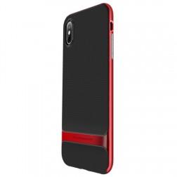 """""""Rock"""" Royce dėklas - raudonas (iPhone Xs Max)"""
