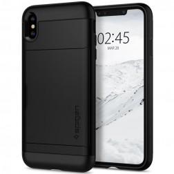 """""""Spigen"""" Slim Armor CS dėklas - juodas (iPhone Xs Max)"""