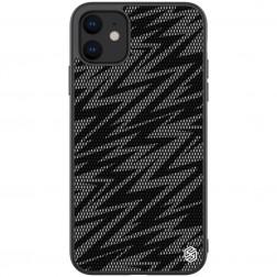 """""""Nillkin"""" Twinkle Lightning dėklas - juodas, blizgus (iPhone 11)"""