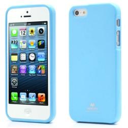 """""""Mercury"""" Color dėklas - šviesiai mėlynas (iPhone 5 / 5S / SE)"""
