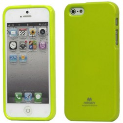 """""""Mercury"""" Color dėklas - žalias (iPhone 5 / 5S / SE)"""