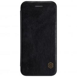 """""""Nillkin"""" Qin atverčiamas dėklas - juodas (iPhone 7 / 8)"""