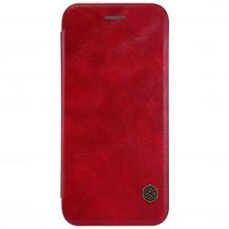 """""""Nillkin"""" Qin atverčiamas dėklas - raudonas (iPhone 7 / 8)"""
