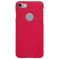 """""""Nillkin"""" Frosted Shield dėklas - raudonas + apsauginė ekrano plėvelė (iPhone 7 / 8)"""