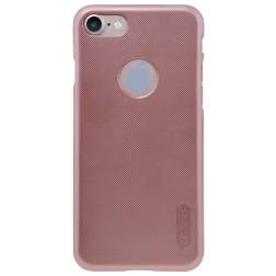 """""""Nillkin"""" Frosted Shield dėklas - rožinis + apsauginė ekrano plėvelė (iPhone 7 / 8)"""